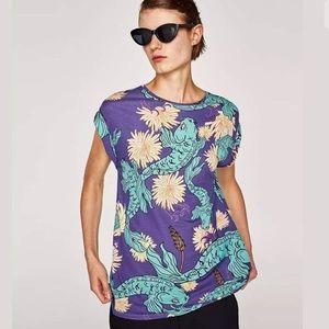 Zara koi t shirt NWT